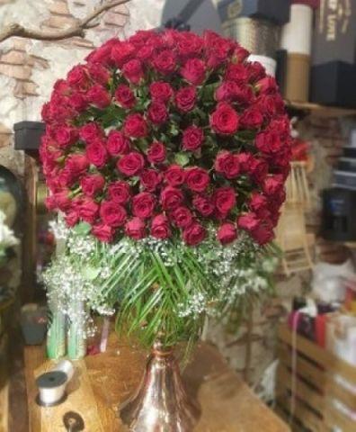 Butik Güllerden Muhteşem Aranjman